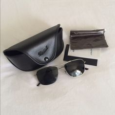 Oliver Peoples Sunglasses w/Case and Cloth These are new Oliver Peoples sunglasses with case and cloth. Oliver Peoples Accessories Glasses