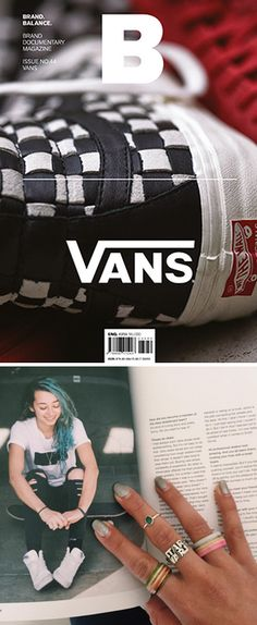 So rad seeing Lizzie Armanto and other Vans athletes in the latest issue of Magazine B.
