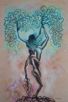 Symbiotic Synapses ~ Oil Painting ~ Prints Available / Surrealism Art Paintings for sale Art And Illustration, Fantasy Kunst, Fantasy Art, Painting Prints, Fine Art Prints, Kunst Inspo, Art Paintings For Sale, Surreal Art, Tree Art