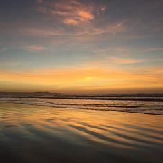 McGennans Beach golden 610am #sun #beach #sunrise #destinationwarrnambool #australia #walk #love3280 #iPhone by herrytoy