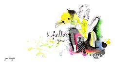 Fashion-inspired dog illustrations by German artist Jana Bonsignore!