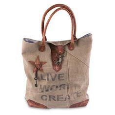Live Work Create Tote Handbag – Roby's Hallmark