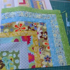 Quilt Now BOM block by mrs_moog on Instagram