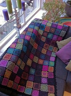 """Drops """"Delight"""" Blanket / or shawl!"""
