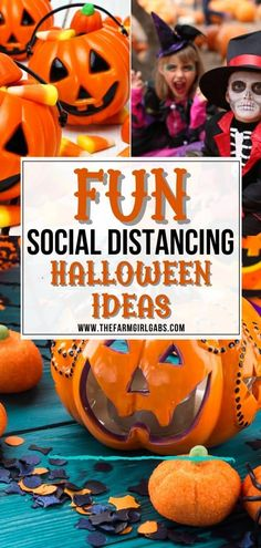 Halloween is not canceled. You can keep your distance and still have fun this fall. Here are fun social distancing Halloween ideas to help you and your family have a spooktacular Halloween. Check out these fun ways to celebrate while social distancing. These no contact Halloween ideas are fun and safe. Outdoor Halloween Parties, Halloween Snacks, Halloween Boo, Halloween Themes, Halloween Crafts, Halloween 2020, Pumpkin Decorating Contest, Pumpkin Contest, Scary Costumes