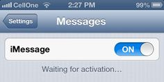 """How to Fix iMessage """"Waiting for Activation"""" Error on iPhone"""