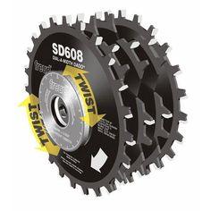 "Buy Freud SD608 Circular Saw Dial Dado Blade Set 8"" x 5/8"" Bore at Woodcraft.com"