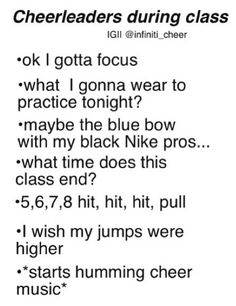 Thoughts of an everyday cheerleader...