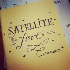 Satellite of Love by Martina Flor