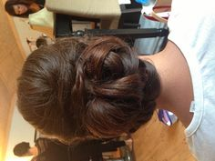 Bridesmaids hair ...if I have enough of it ...but elegant!