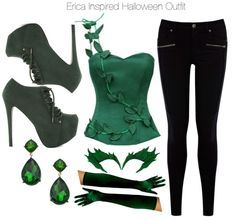 Image result for poison ivy diy costume