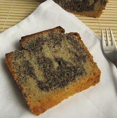 Poppy Seed & Marzipan-Kirsch Marble Cake by seitanismymotor