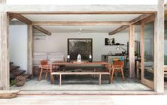 Elegant Casa Lola Is A Vision Of Rustic Bohemian Chic, Balanced With Just The Right  Mix