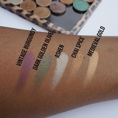 Summer Swatchfest: Coastal Scents Hot Pots [Swatched on Brown Skin]