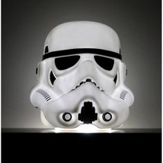 Battle the Dark Side quite literally with the Star Wars Stormtrooper Mood Light Lamp.