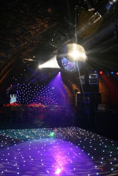 Don't forget the disco ball!