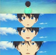 Makoto, Splash Free, Haruka Nanase, Free Eternal Summer, Free Iwatobi Swim Club, Hot Anime Boy, Free Anime, My Hero Academia, Webtoon