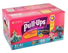 Huggies Pull-Ups Combo Pack - 86 3T-4T Girls Diapers https://www.boxed.com/product/158/huggies-pull-ups-combo-pack-86-3t-4t-girls-diapers/