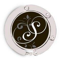 Luxe Link Purse Holder - Flourished Initial S $19.95