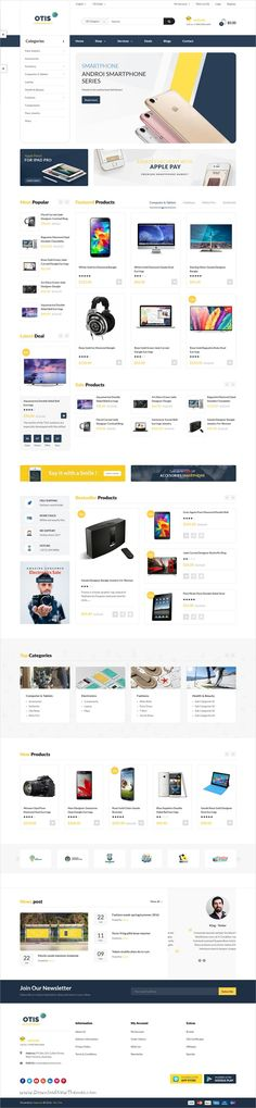 Pav otis is a wonderful 3in1 responsive #OpenCart theme for stunning digital and #technologies shop #eCommerce websites download now➩ https://themeforest.net/item/pav-otis-advanced-digital-technologies-opencart-theme/19267623?ref=Datasata