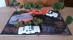 Amazing Gardens, Beautiful Gardens, Voitures Hot Wheels, General Lee, Kit Cars, Diy Garden Decor, Scale Models, Craft Projects, Miniatures