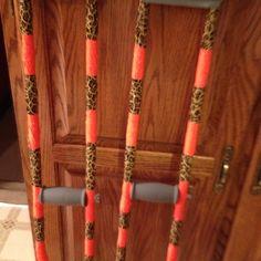 Decorative crutches(: