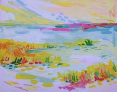 Candy Marsh *PRINT* 8x11.5 Professionally printed in Charleston, SC. Limited time offer. Only 20 available.