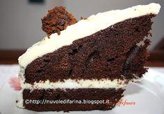 Mocha Cake with white chocolate cream and coffee truffles