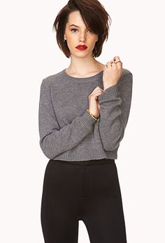 Must-Have Cropped Sweater | FOREVER21 - 2000110792