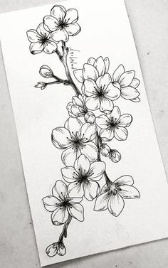 Learn To Draw A Realistic Rose cherryblossom Draw learn realistic Rose flowertattoos # Realistic Flower Drawing, Simple Flower Drawing, Easy Flower Drawings, Beautiful Flower Drawings, Floral Drawing, Flower Sketches, Pencil Art Drawings, Art Drawings Sketches, Drawing Flowers