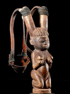 Africa | Slingshot/Catapult from the Ewe  people of Togo | ca. 1960