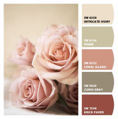 Paint colors from Chip It! by Sherwin-Williams. Love these colors.