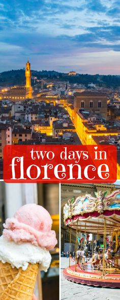 2 Days in Florence Itinerary: how to hit all the best sites in Tuscany's capital in just two days, including the Ufizzi, David, the Duomo, the Boboli Gardens, and more!