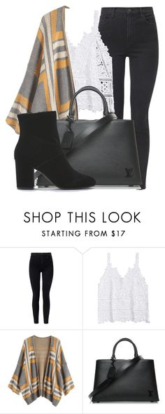 """Outfit #1932"" by lauraandrade98 on Polyvore featuring moda, J Brand, Louis Vuitton y American Eagle Outfitters"