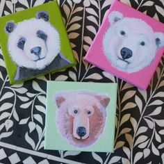 TGIF - MINI PAINTINGS FOR UGALLERY –