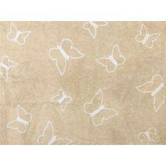 alfombra lavable mariposa