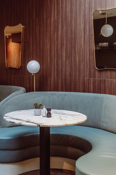 There's a new girl in town! Café Georgette by Framework Studio, Amsterdam Banquet Seating, Cafe Seating, Restaurant Interior Design, Restaurant Interiors, Banquette Bench, Banquettes, Restaurant Tables, Hospitality Design, Cafe Design