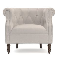 Found it at Joss & Main - Sadie Tufted Arm Chair