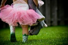 tutu and rain boots. . . Yeah, Baby !