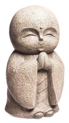 Praying Buddha Garden Statue