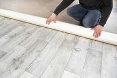 PVC is a great flooring material for rooms where you don't want a cold stone floor or a rug. It's perfect for kitchens and bathrooms since PVC is both waterproof and durable. Pvc Flooring, Linoleum Flooring, Bedroom Flooring, Stone Flooring, Carpet Flooring, Concrete Floors, Vinyl Flooring, Basement Flooring, Flooring Ideas