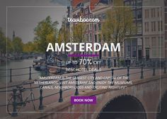 BOOK NOW: http://www.traviboo.com/hotels_amsterdam