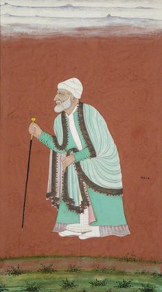 Mulla Raoza India, Andhra Pradesh, Golconda, circa 1675 Drawings; watercolors Opaque watercolor, gold, silver, and ink on paper Sheet: 9 x 5 in. (22.86 x 12.7 cm); Image: 8 11/16 x 4 3/4 in. (22.07 x 12.07 cm) Gift of Paul F. Walter (M.75.113.2) South and Southeast Asian Art