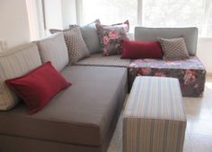 An amazing idea of fully modular and designable living rooms... we already ordered ours...