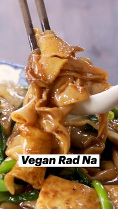 Best Vegan Recipes, Vegan Dinner Recipes, Thai Recipes, Asian Recipes, Favorite Recipes, Healthy Recipes, Vegan Vegetarian, Vegetarian Recipes, Vegan Food