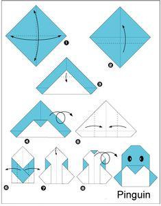 Origami for Beginners | origami pinguin origami Pinguin