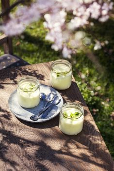 Lemon mousse with stevia, dairyfree and glutenfree PHOTOGRAPHY AND RECIPE: WWW.WINNIEMETHMANN.COM