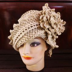 Crochet Hat Pattern Couture  LAUREN Cloche by strawberrycouture, $6.00