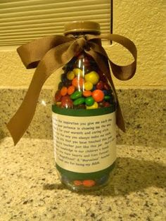 "Simply Crafty: ""Magnificent"" & ""Marvelous"" Jars - Teacher Appreciation"