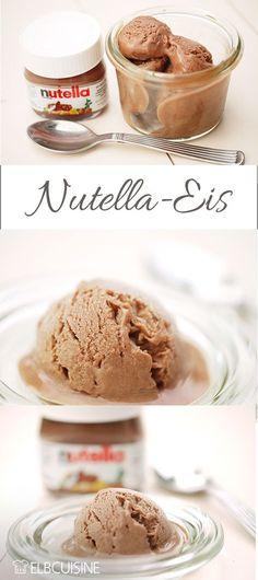 Nutella-Eis Für 3 – 4 Personen 20 Minuten Zubereitungszeit plus Wartezeit Zutaten 4 Eigelbe 20 g Zucker 400 ml Milch 200 g Nutella Zubereitung Eigelbe und Zucker hellgelb schaumig schlagen. Die Milch zum Kochen bringen, etwas abkühlen lassen und unter ständigem Rühren in die Eier-Zucker-Masse geben. Alles zurück in den Kochtopf geben und unter rühren erwärmen, bis kurz vor dem Kochen. Dann kurz abkühlen lassen, in die Eismaschine geben, anschließend in die Tiefkühltruhe. Ohne Eis...